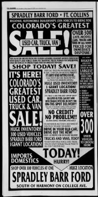 Ford Dealership Fort Collins : dealership, collins, Collins, Coloradoan, Collins,, Colorado, August