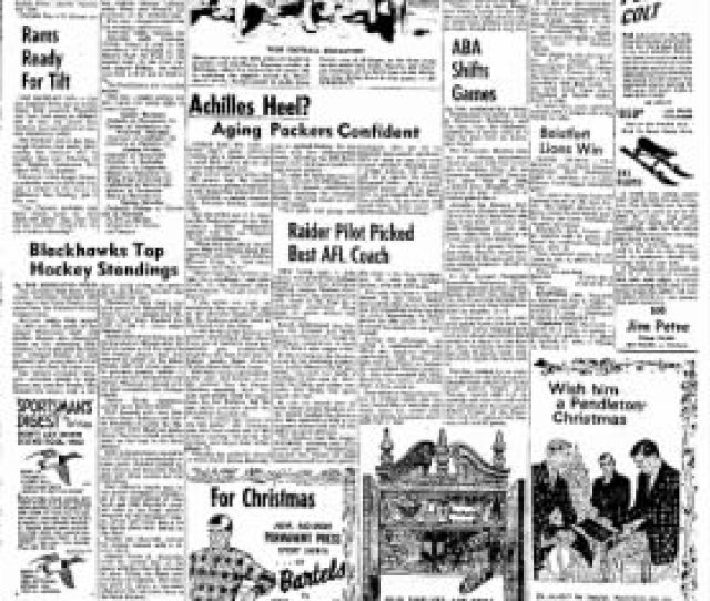 The Daily Chronicle From Centralia Washington On December 21 1967  C2 B