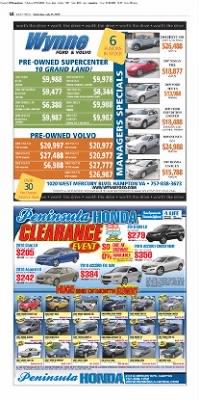 B12 Honda Civic : honda, civic, Daily, Press, Newport, News,, Virginia