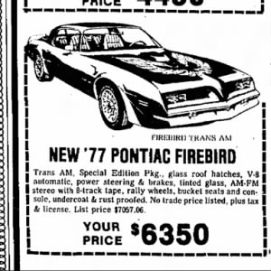 Remembering 10 Classic Cars through Newspaper Ads