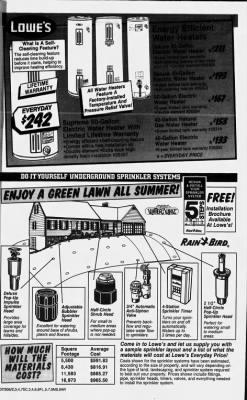 Lowes Sprinkler System : lowes, sprinkler, system, Hattiesburg, American, Hattiesburg,, Mississippi, March