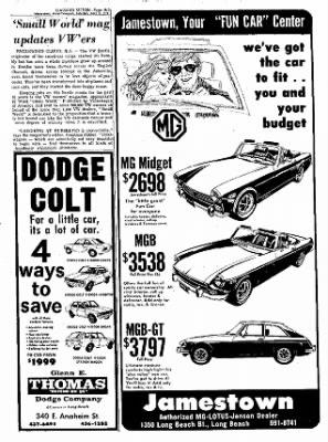 Dodge Dealer Long Beach : dodge, dealer, beach, Independent, Press-Telegram, Beach,, California, April