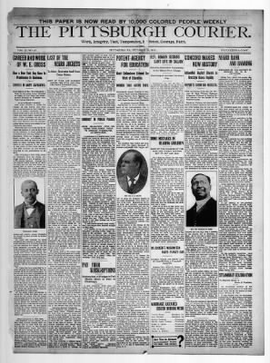 28 Oct 1911, Page 1 - The Pittsburgh Courier at Newspapers.com