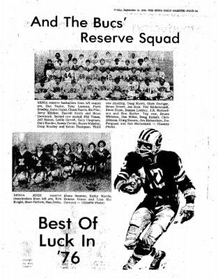 Xenia Daily Gazette from Xenia, Ohio on September 10, 1976