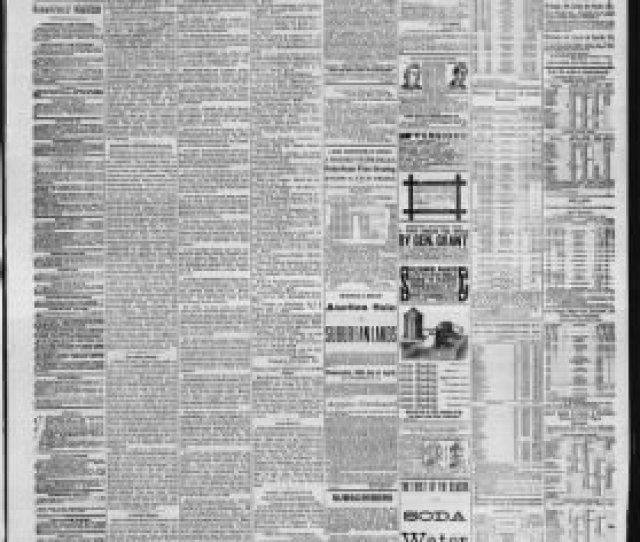 Fort Wayne Daily Gazette From Fort Wayne Indiana On April 23 1880  C2 B