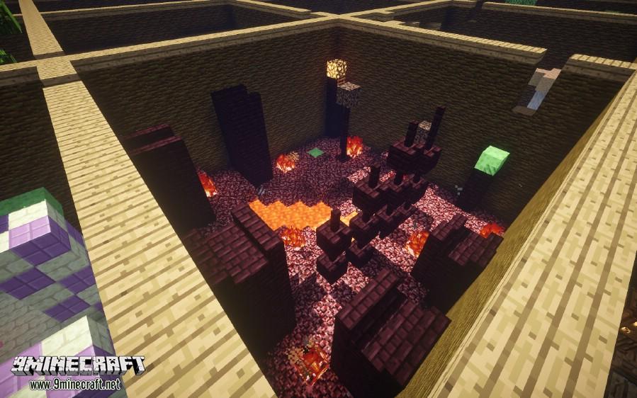 Parkour Paradise 2 Map Minecraft 1122