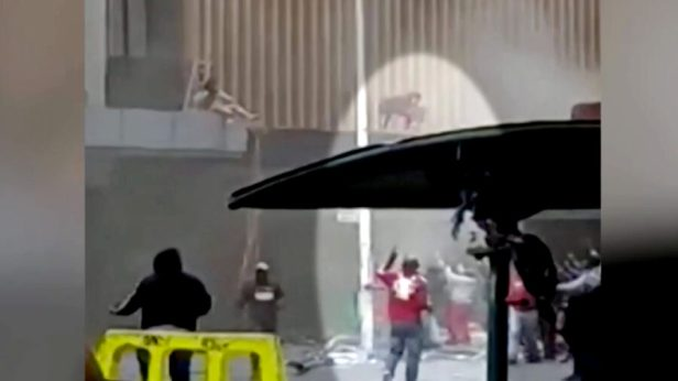 South African Mother Throws Baby to Safety From Burning Building