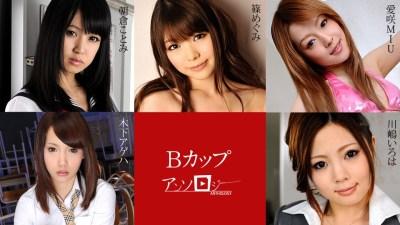 Carib 101019-001 Shino Megumi,Asakura Kotomi,Kinoshita Ageha,Aisaki MIU,Kawashima Iroha B Cup Anthology