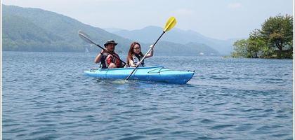 【福島旅遊】檜原湖獨木舟初體驗 一覽裏磐梯美景