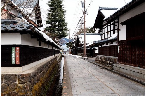 北陸奧越小京都 七間通、朝倉義景墓所、野村醬油散策