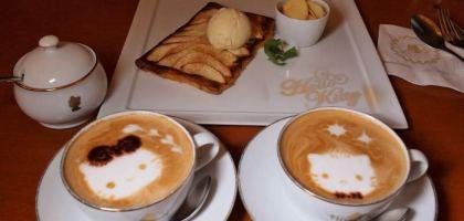 【橫濱美食】低調奢華風走高級路線的Hello Kitty餐廳