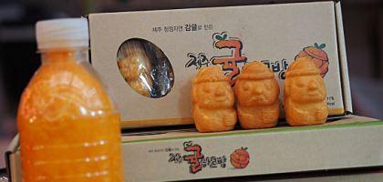 濟州島最新人氣小吃 柑橘爺爺