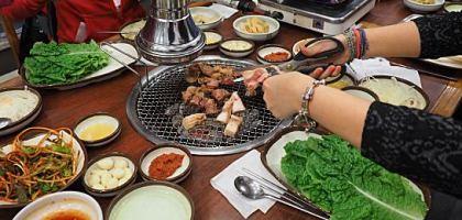 【濟州島】늘봄흑돼지 永春黑豬肉燒烤餐廳