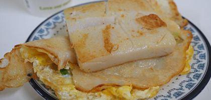 【台北美食】石牌夜市販賣超過30年的無名蛋餅