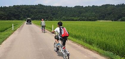 【秋田旅遊】五城目町里山自行車之旅 穿梭田間享受在大自然野餐的樂趣