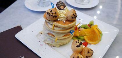 【大津美食】大津王子大飯店Chatelaine  人氣第一的鬆餅