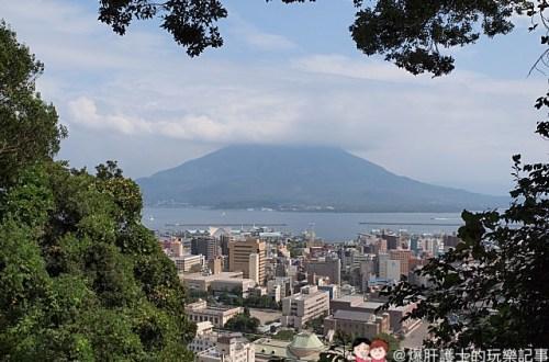 九州、鹿兒島|可以遠眺櫻島火山噴發景象的城山展望台、西鄉隆盛洞窟