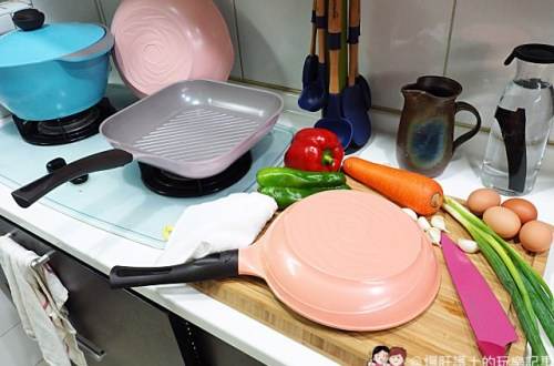 Chef Topf 玫瑰鍋 省油、不沾、好用、好清洗 讓做菜心情變好的時尚廚具