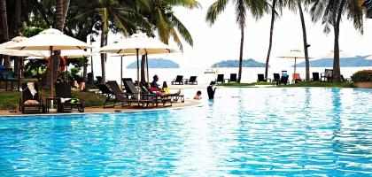 馬來西亞、沙巴 亞庇五星級度假飯店 絲綢太平洋飯店(房間篇)