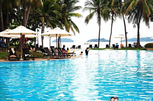 馬來西亞、沙巴|亞庇五星級度假飯店 絲綢太平洋飯店(房間篇)