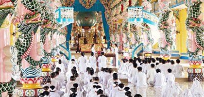 越南、西寧|西寧聖殿 Cao Dai Temple – 國父孫中山是高臺教的神?