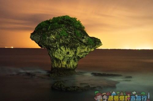 屏東、小琉球|花瓶岩、白沙觀光港•日景夜景都滿分的必到景點