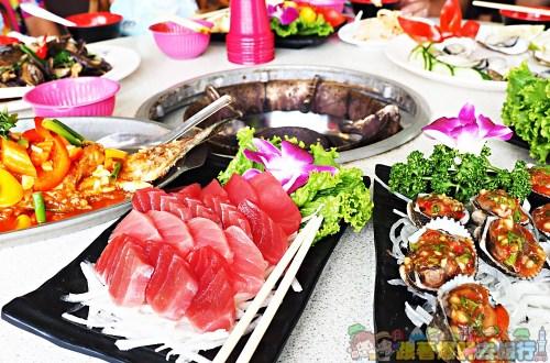 屏東、東港美食|大鵬灣珍珍海鮮餐廳–免費滷肉飯吃到飽的平價海鮮料理餐廳