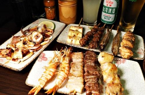 澠井川 日式串燒居酒屋|天母跳蚤市場旁適合小酌的燒烤居酒屋