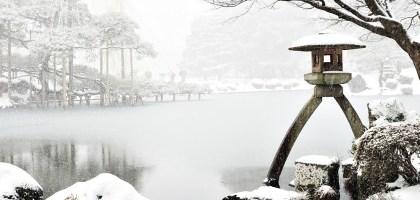 石川、金澤|兼六園雪景.想與你牽手漫步在詩情畫意裡
