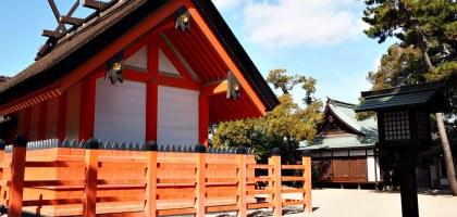 大阪|住吉大社.在古老神社感受紅與藍的寧靜