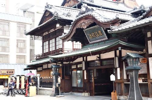 日本、松山|道後溫泉.原來這就是少爺機關鐘阿!