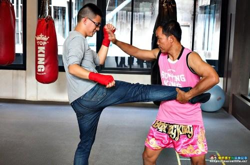 曼谷體驗|Boxing king.泰拳體驗打到小腹都平了