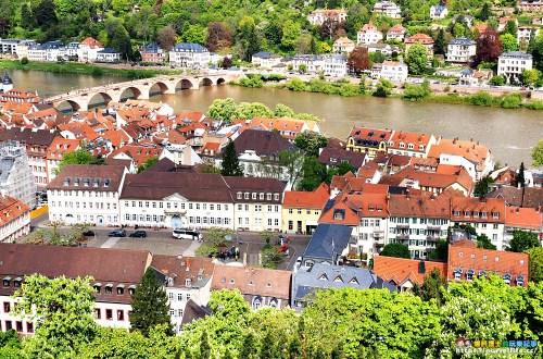 德國、海德堡|海德堡城堡.感受斷垣殘壁的浪漫之美