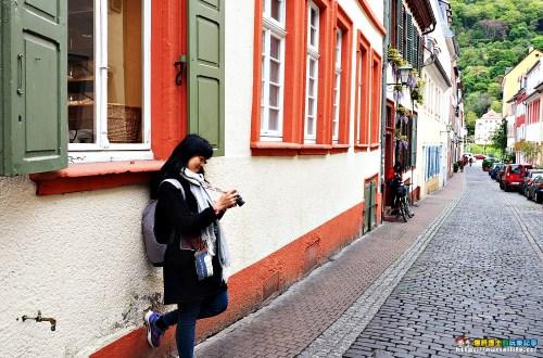 德國|海德堡舊城區.購物逛街的好地方