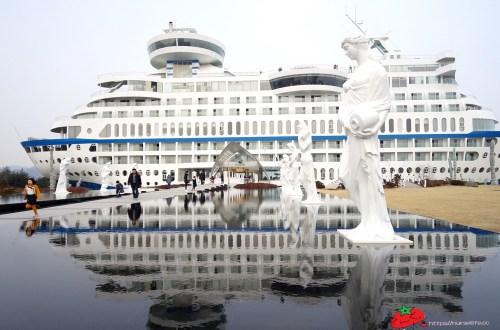 韓國、江原道|正東津的著名觀光飯店-Sun Cruise郵輪飯店,入住、參觀或看海都讓你美的美丁美當