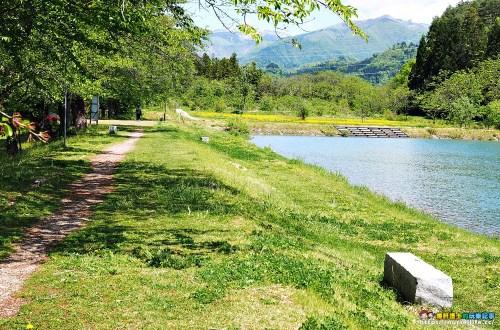 福島、喜多方 道の駅喜多の鄉、八方池