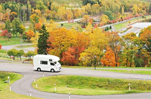 北海道|劍淵溫泉繪本故鄉家族旅行村.最超值的景觀露營地