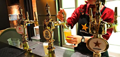 北海道|札幌Sappro啤酒博物館.都來到產地了不喝嗎?