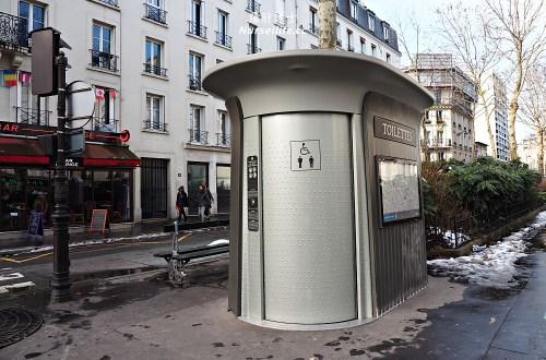 法國公共廁所的免費危機
