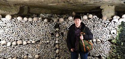 巴黎地下墓穴Les Catacombes de Paris.與600萬陰靈同行的死人骨頭之旅