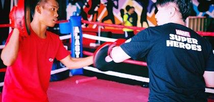 宿霧ALA Boxing GYM.最舒壓的拳擊練習館