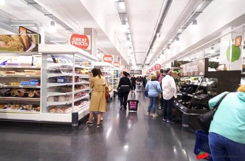 英國、倫敦|Sainsbury's 能見度最高的連鎖超市.搭配自助結帳超方便
