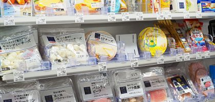 日本Lawson 夏日的甜點、下酒菜系列
