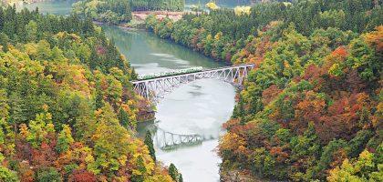 鐵道控必來!福島只見線交通、沿線景點、美食、住宿