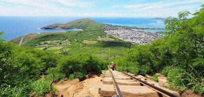 夏威夷 Koko Head 穿梭在地獄與天堂的健行步道