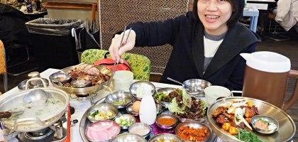 釜山、西面站 조옥당 부산점﹒比萬巒豬腳還好吃的原味和辣味豬腳雙拼