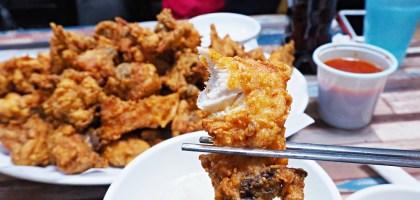 釜山|巨人炸雞 거인통닭.名列釜山第一高CP值的現點現炸整隻雞