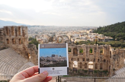 希臘 雅典衛城 Acropolis of Athens 帕德嫩神殿.雅典娜我來了!