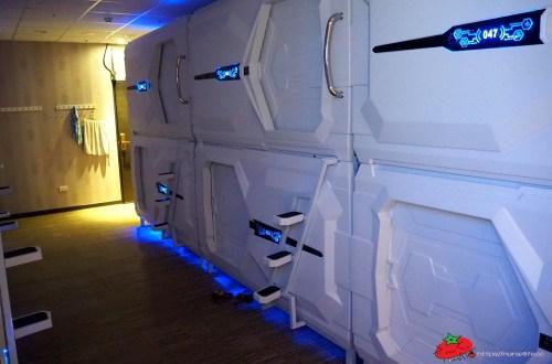 Uz Hotel 原宿膠囊旅館|捷運板南線府中站周邊住宿.單人旅遊住太空艙的好選擇