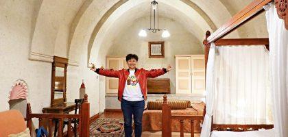 土耳其|Gül Konaklari - Sinasos 洞窟飯店根本是夢幻網美套房